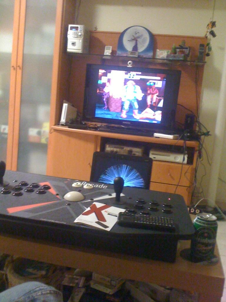 Art of Fighting al Mame amb X-arcade